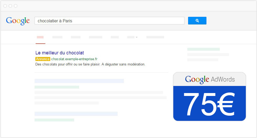 coupon de reduction google adwords pour les entrepreneurs du val de marne ou les entreprises de Paris Ile de France